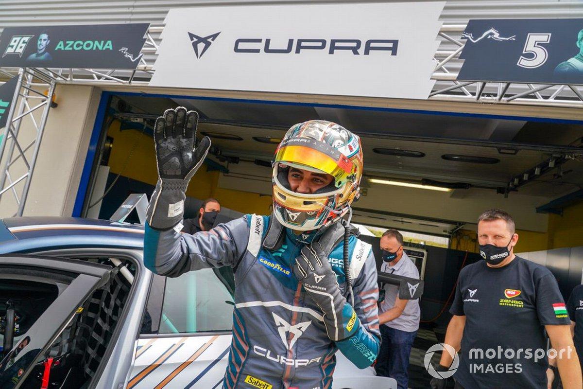 Mikel Azcona, Zengő Motorsport X CUPRA, Cupra e-Racer