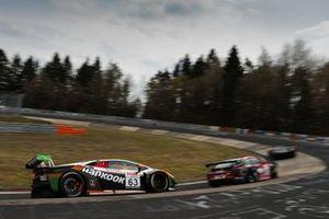 #63 Hankook FFF Racing Team Lamborghini Huracan GT3 Evo: Marco Mapelli, Franck Perera, Mirko Bortolotti