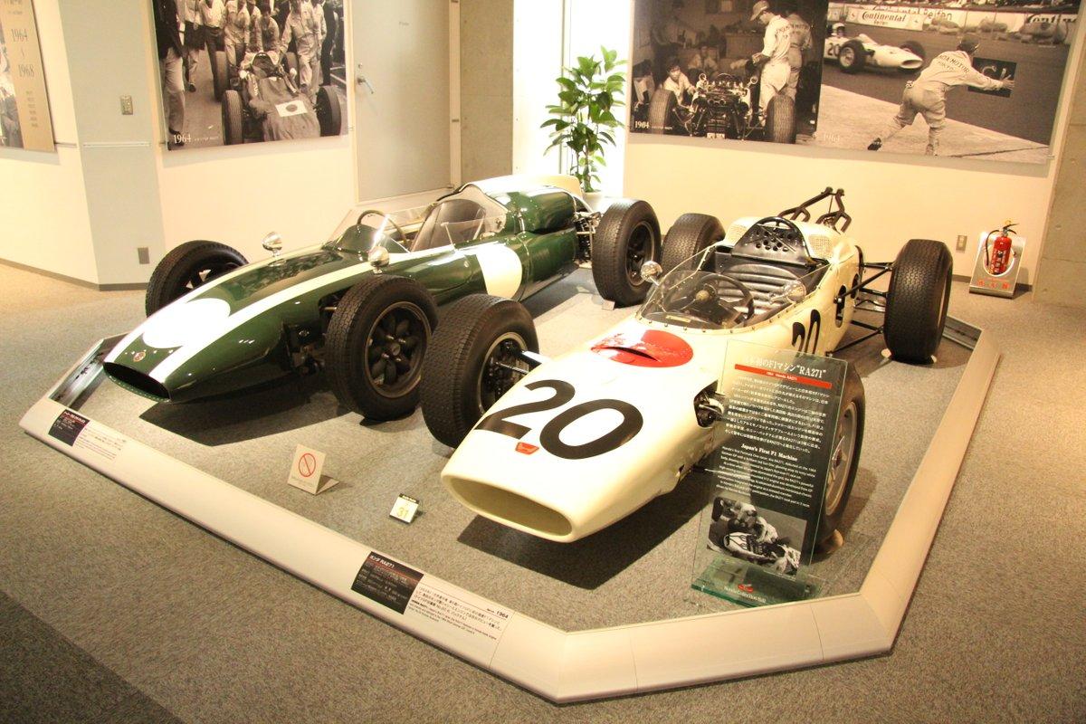 1964 Honda RA271(R) ,1961 Cooper T53(L)