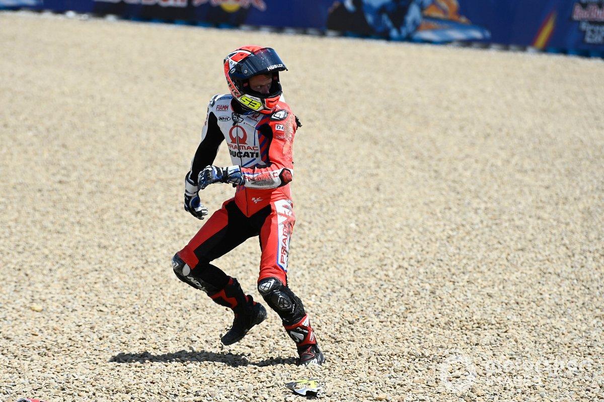 Caída de Tito Rabat, Pramac Racing