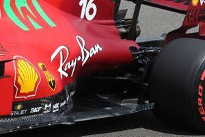 Charles Leclerc, Ferrari SF21, floor