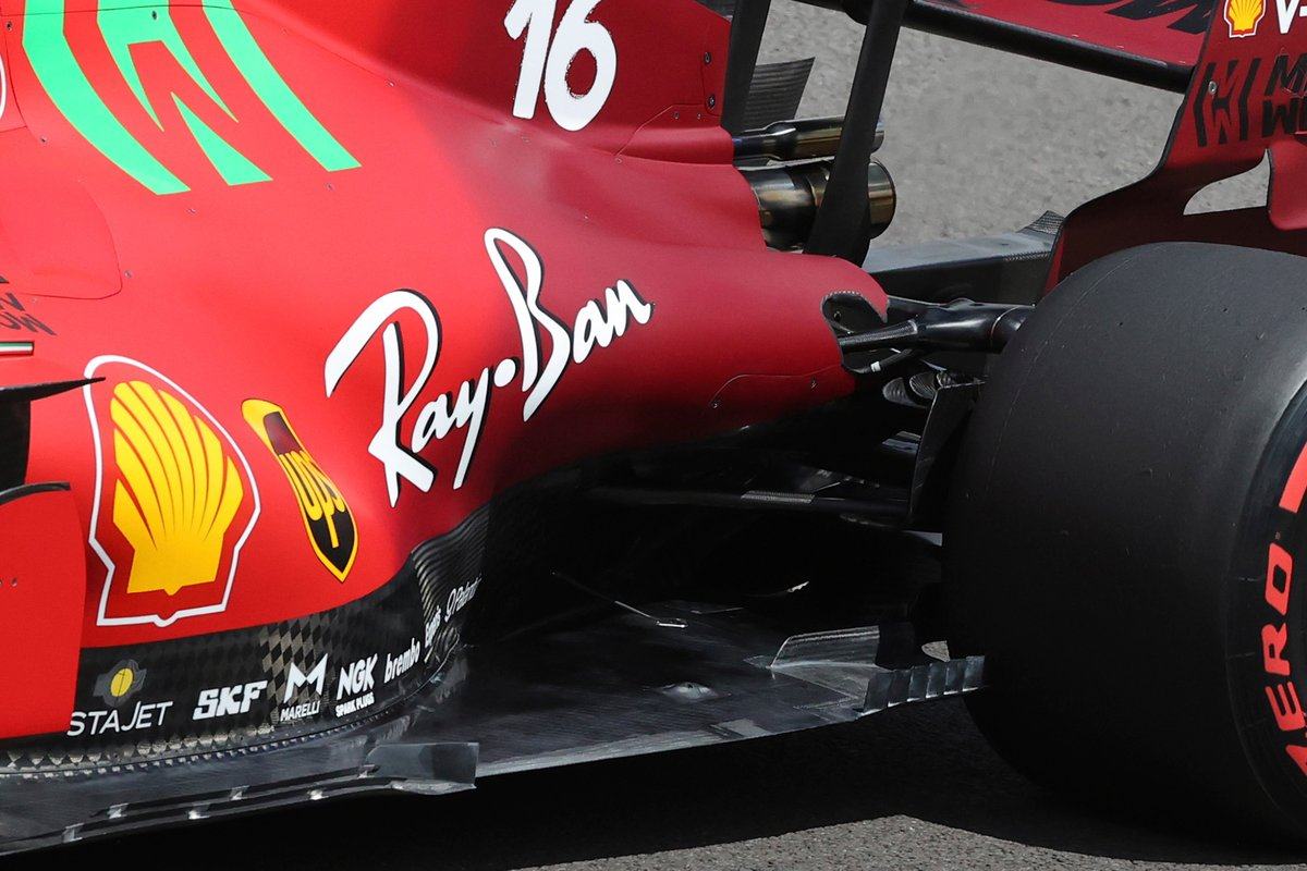 Piso de Charles Leclerc, Ferrari SF21