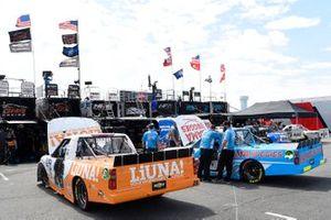 Tyler Ankrum, GMS Racing, Chevrolet Silverado LiUNA!, Chase Purdy, GMS Racing, Chevrolet Silverado BamaBuggies.com