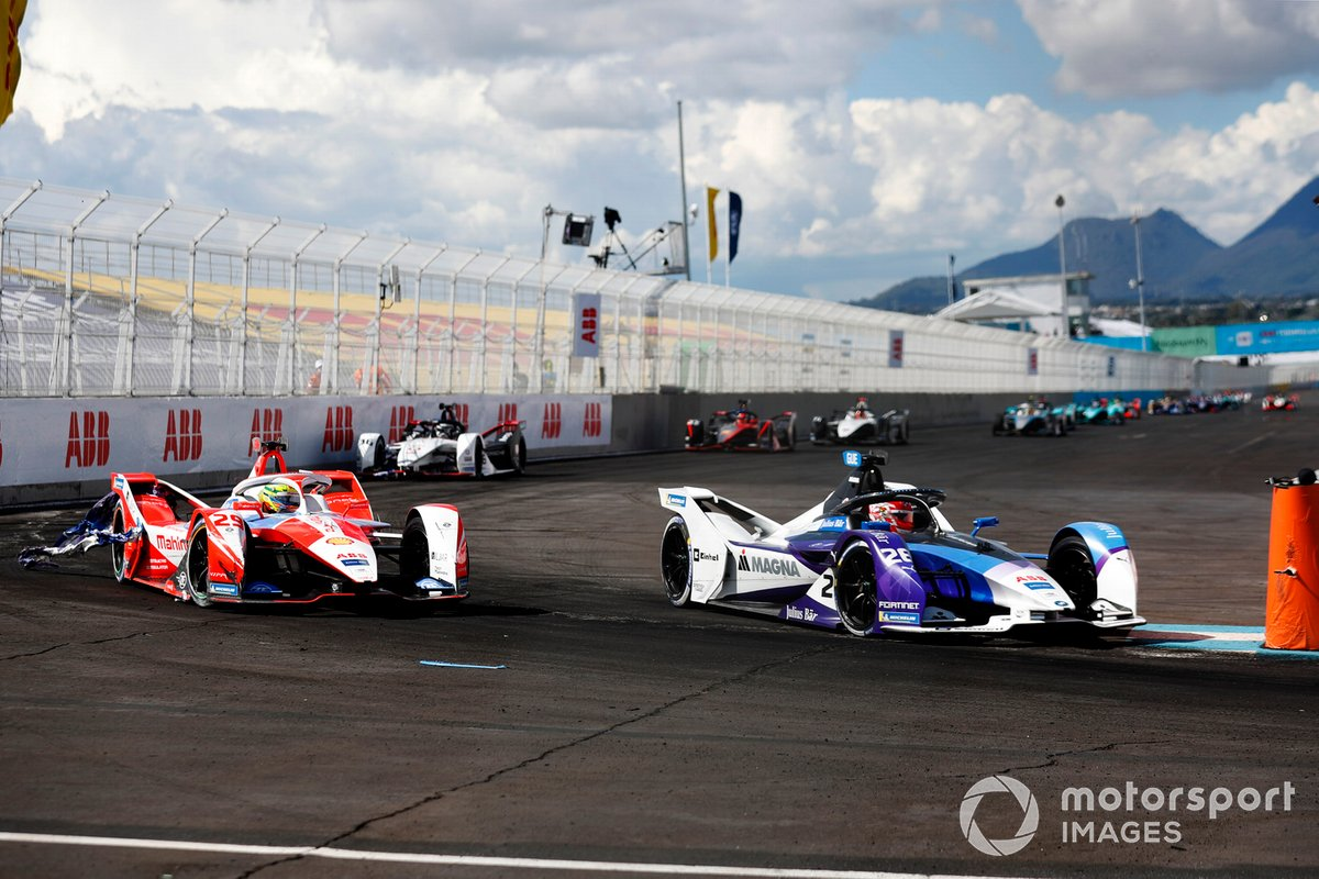 Maximilian Guenther, BMW I Andretti Motorsports, BMW iFE.21, Alexander Sims, Mahindra Racing, M7Electro