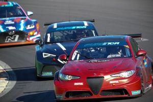 Stefano Coletti, Oliver Webb, Romeo Ferraris, Alfa Romeo Giulia ETCR