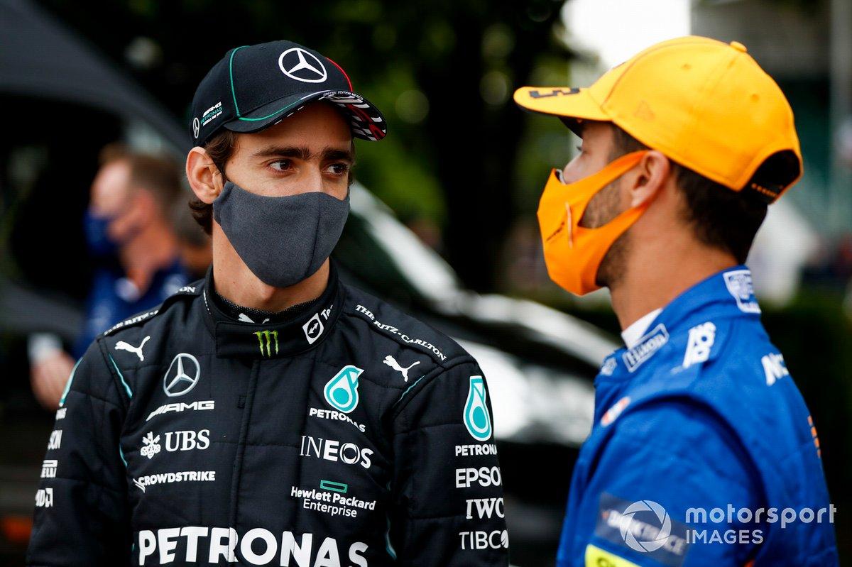 Esteban Gutiérrez y Daniel Ricciardo, McLaren