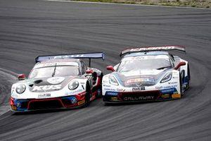 #75 Ku?s Team Bernhard Porsche 911 GT3 R: Christian Engelhart, Thomas Preining, #77 Callaway Competition CorvetteC7 GT3-R: Jeffrey Schmidt, Marvin Kirchhöfer