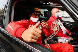 Carlos Sainz Jr., Ferrari, 2nd position