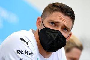 Edoardo Mortara, Venturi Racing en la conferencia de prensa