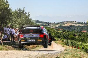 Oliver Solberg, Aaron Johnston, Hyundai i20 Coupe WRC
