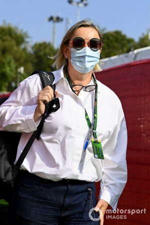 Sabine Kehm, Manager of Mick Schumacher, Haas F1