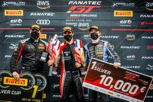 Podium: #87 AKKA ASP Mercedes-AMG GT3: Konstantin Tereschenko, Jim Pla