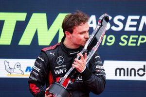 Podium: Race winner Lucas Auer, Mercedes AMG Team Winward