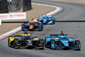 Colton Herta, Andretti Autosport w/ Curb-Agajanian Honda, Max Chilton, Carlin Chevrolet