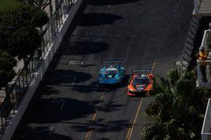 #16: Wright Motorsports Porsche 911 GT3R, GTD: Patrick Long, Trent Hindman, #76: Compass Racing Acura NSX GT3, GTD: Matt McMurry, Mario Farnbacher