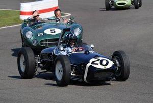 Sir Stirling Moss Tribute Damon Hill Lotus 18
