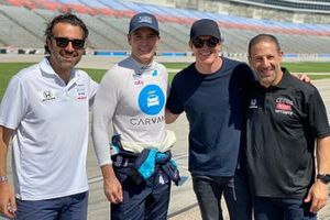 Jimmie Johnson, Chip Ganassi Racing Honda with Dario Franchitti, Scott Dixon, and Tony Kanaan