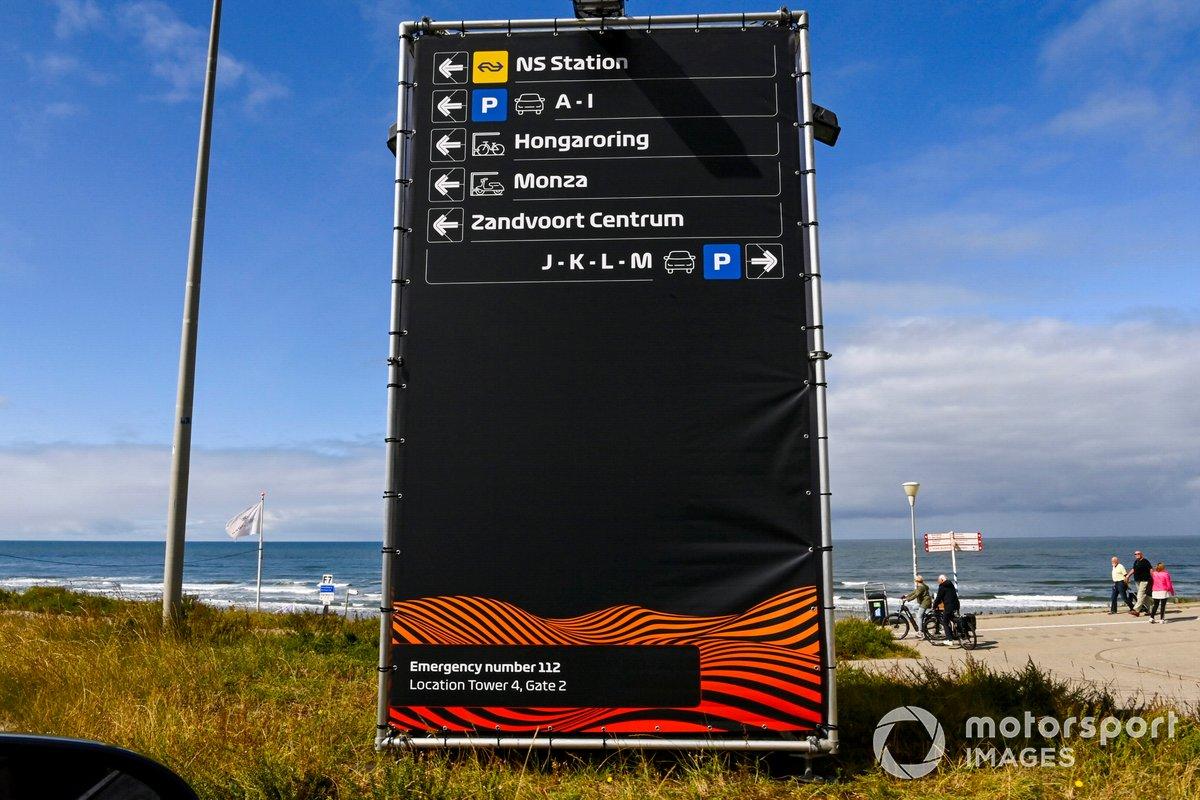 Ambiente en Zandvoort