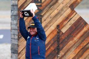 Roger Griffiths, Team Principal, Andretti United Extreme E, sur le podium