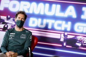 Sebastian Vettel, Aston Martin in conferenza stampa