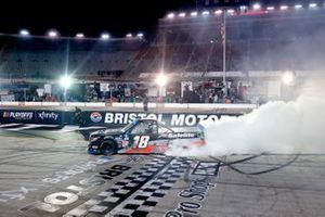 Race winner Chandler Smith, Kyle Busch Motorsports, Toyota Tundra