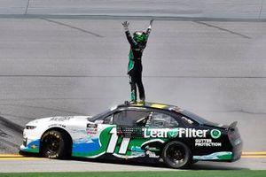 Race winner Justin Haley, Kaulig Racing, Chevrolet Camaro