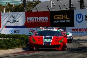 #63: Scuderia Corsa Ferrari 488 GT3, GTD: Colin Braun, Daniel Mancinelli