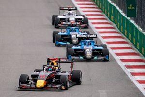 Ayumu Iwasa, Hitech Grand Prix Calan Williams, Jenzer Motorsport Filip Ugran, Jenzer Motorsport