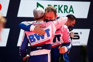 Podium: Maximilian Götz, Haupt Racing Team