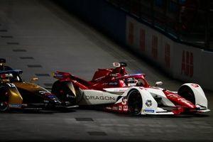 Joel Eriksson, Dragon Penske Autosport, Penske EV-5, Antonio Felix Da Costa, DS Techeetah, DS E-Tense FE21