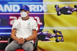 Valtteri Bottas, Mercedes, in the Press Conference