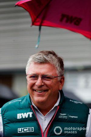 Otmar Szafnauer, Team Principal e CEO, Aston Martin F1