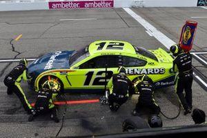 Ryan Blaney, Team Penske, Ford Mustang Menards/Tarkett