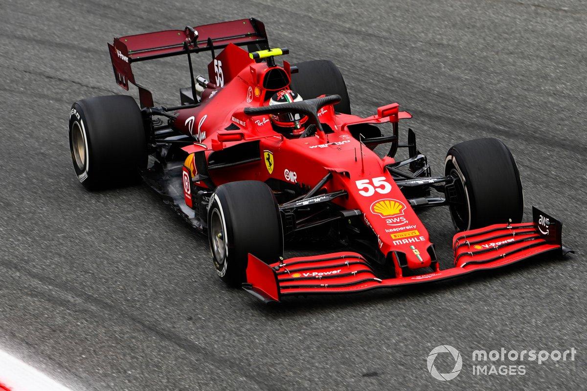 Carlos Sainz Jr, Ferrari SF21