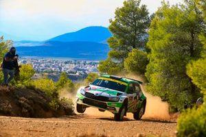 Andreas Mikkelsen, Elliott Edmondson, Toksport WRT Skoda Fabia Rally2 evo
