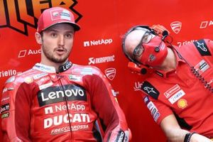 Jack Miller, Ducati Team, mit Chrsitian Pupulin