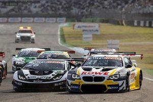 Sheldon van der Linde, ROWE Racing BMW M6 GT3, Esmee Hawkey, T3-Motorsport Lamborghini Huracan Evo GT3