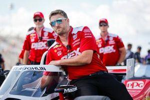 Colin Davis de l'équipe de Scott McLaughlin, Team Penske Chevrolet