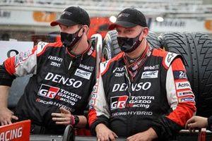 Mécaniciens Toyota Gazoo Racing