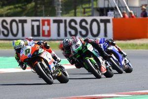 Axel Bassani, Motocorsa Racing, Alex Lowes, Kawasaki Racing Team WorldSBK