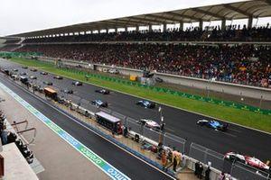 Start zum GP Türkei 2021 in Istanbul