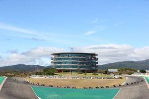 Renn-Action der Supersport-Klasse in Portimao