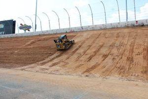Baufortschritt: Umbau des Atlanta Motor Speedway für die NASCAR-Saison 2022
