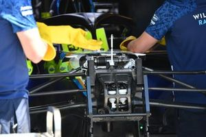 Williams FW41 front detail