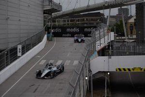 Nyck de Vries, Mercedes Benz EQ, EQ Silver Arrow 02, Robin Frijns, Envision Virgin Racing, Audi e-tron FE07