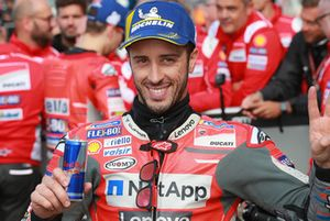 Second place qualifying Andrea Dovizioso, Ducati Team