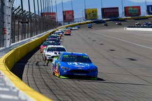 Ryan Blaney, Team Penske, Ford Fusion PPG, Kevin Harvick, Stewart-Haas Racing, Ford Fusion Mobil 1