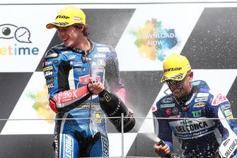 Podium: Race winner Marco Bezzecchi, Prustel GP