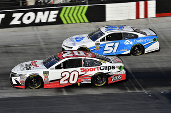 Erik Jones, Joe Gibbs Racing, Toyota Camry Sport Clips , Reed Sorenson, Rick Ware Racing, Chevrolet Camaro Trading View