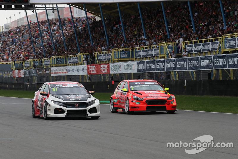 Viktor Davidovski, PSS Racing Team Honda Civic Type R TCR, Igor Stefanovski, Stefanovski Racing Team Hyundai i30 N TCR